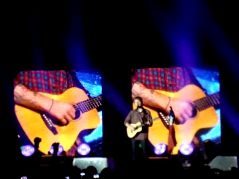 Ed Sheeran @ Lyon - Give Me Love / This / All of the Stars