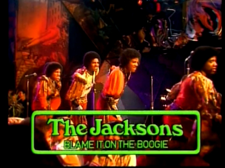 The Jacksons - Blame It On The Boogie live on Musik Laden Beat Club - 1978
