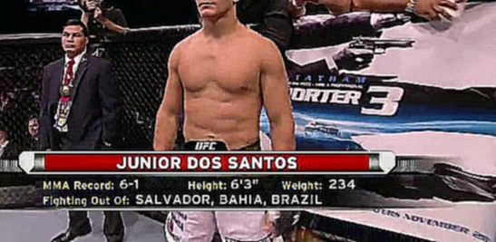 [HD-720] Junior dos Santos vs Fabricio Werdum