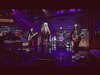 The Pretty Reckless-Make We Wanna Die(Live At Letterman Show)