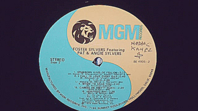 FOSTER  SYLVERS  -  WHEN  I'M NEAR YOU