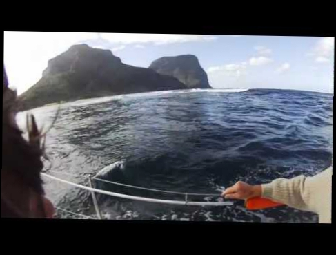Sydney to Lord Howe sail on Aria 2012