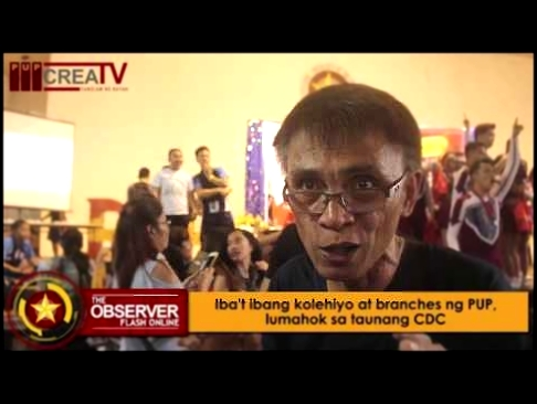 THE OBSERVER FLASH ONLINE: College of Communication, wagi sa Cheerdance Competition 2017