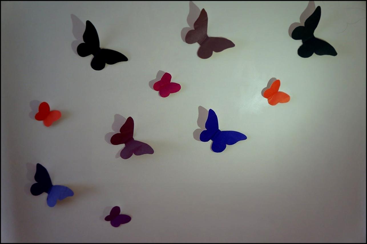 3d бабочек своими руками 61