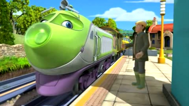 Город Паровозиков (2 серия из 6) / Chuggington (2008)