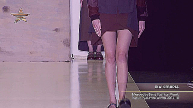 Full Shows RIA KEBURIA Mercedes-Benz Fashion Week Russia AutumnWinter 2014-15 NM-NB