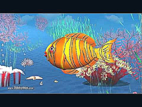 12345 Once i caught a fish alive - 3D Animation English Nursery rhyme for children