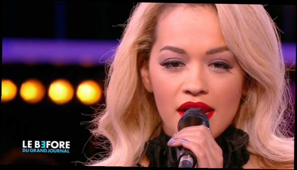 Drunk In Love de Beyoncé par Rita Ora - Le Before du Grand Journal HD