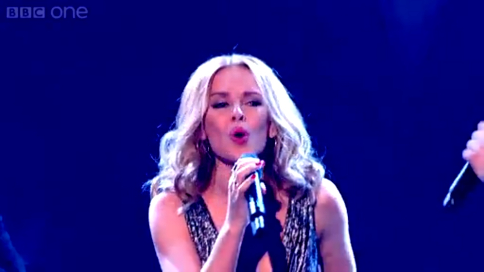 Kylie 'Into The Blue' - The Voice UK 2014- The Live Semi Finals -   HD  BBC One