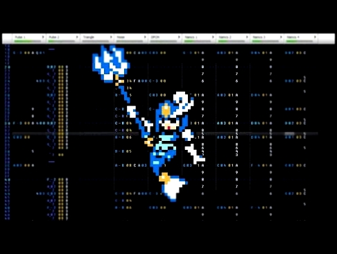 Mega Man 9 - Waves Blue Splash Woman - 8-bit Famitracker [N163]