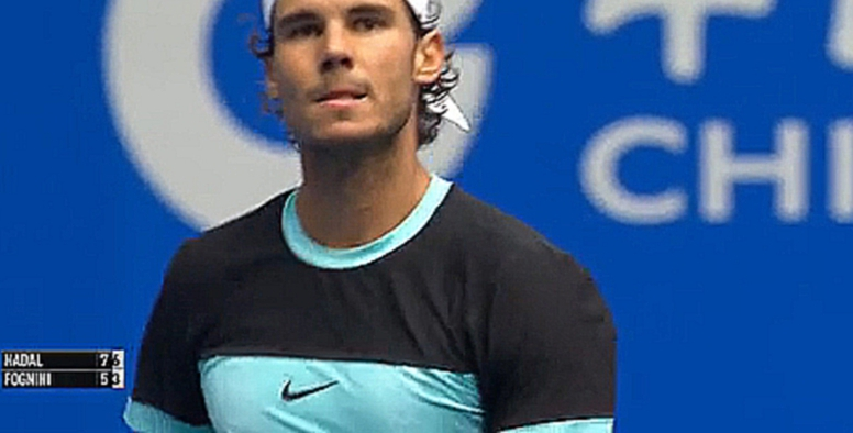 2015 China Open SF Rafael Nadal vs. Fabio Fognini / Highlights