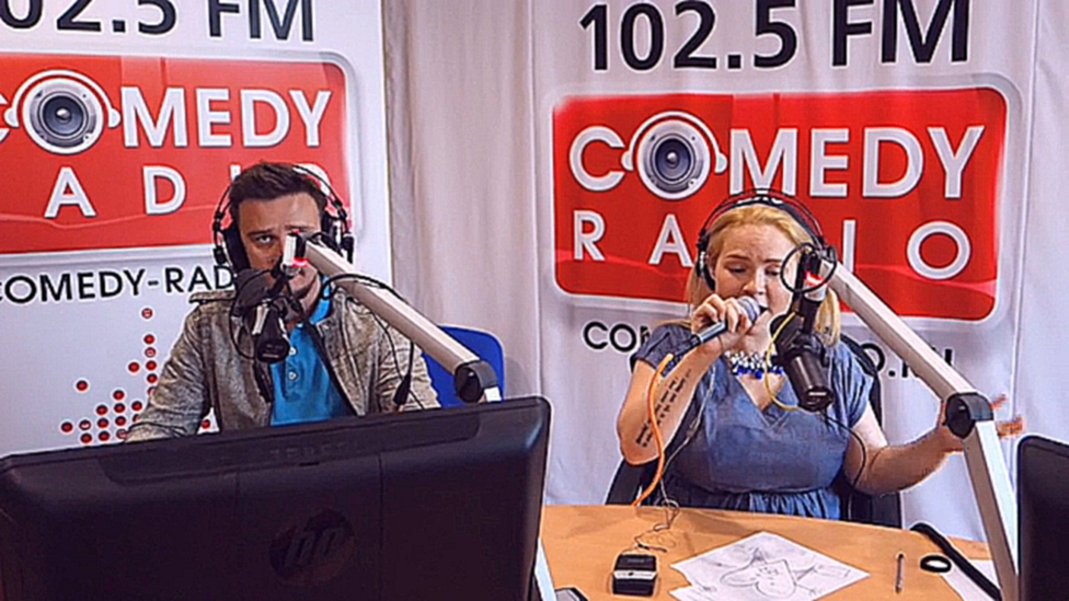 Группа Guru Groove Foundation в эфире Comedy Radiо