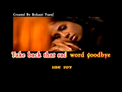 Toni Braxton -  Unbreak My Heart - Dengan Lirik Versie English