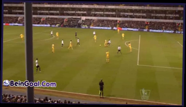 Goal Defoe - Tottenham 2-0 Crystal Palace - 11-01-2014 Highlights