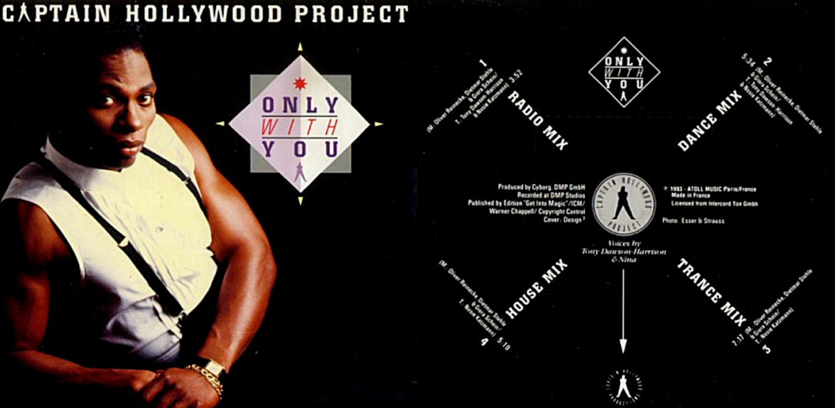 Captain Hollywood Project - Only With You [1993]