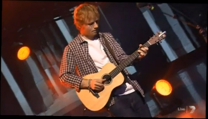Ed Sheeran - 2 SONGS - Thinking out loud - Don't - Live in Australia X Factor 2014 [HD]