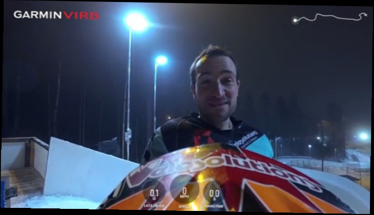 Claudio Caluori's POV Preview of the Finland Track/ Red Bull Crashed Ice 2016