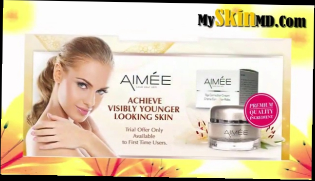 Aimee Age Correction Cream Review - Is It A Scam