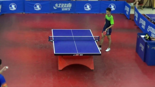 Miao Jia Wu vs Cao Ze Long, 9:11, 9:11, 13:11, 11:8, 8:11; 2:3