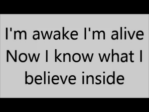 Awake and Alive | Skillet | Lyrics