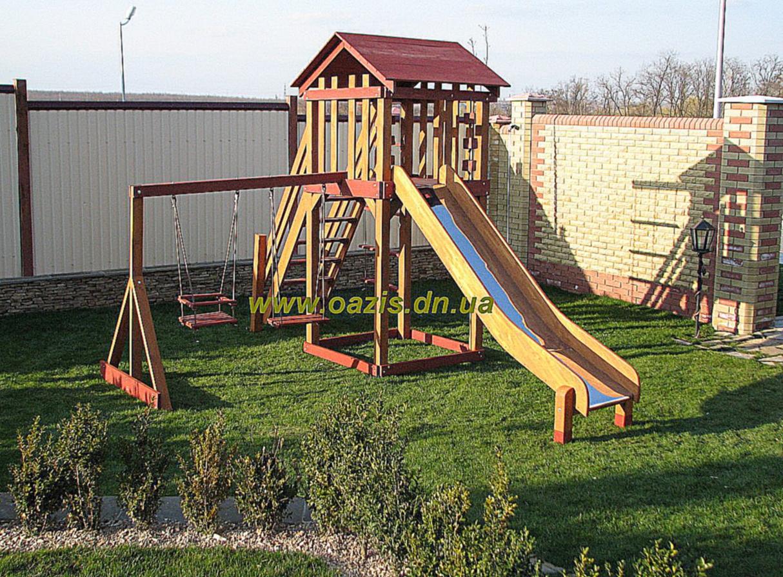 Детскую площадку построить своими руками 83