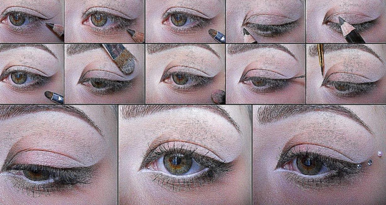 Красивый свадебный макияж своими руками 40