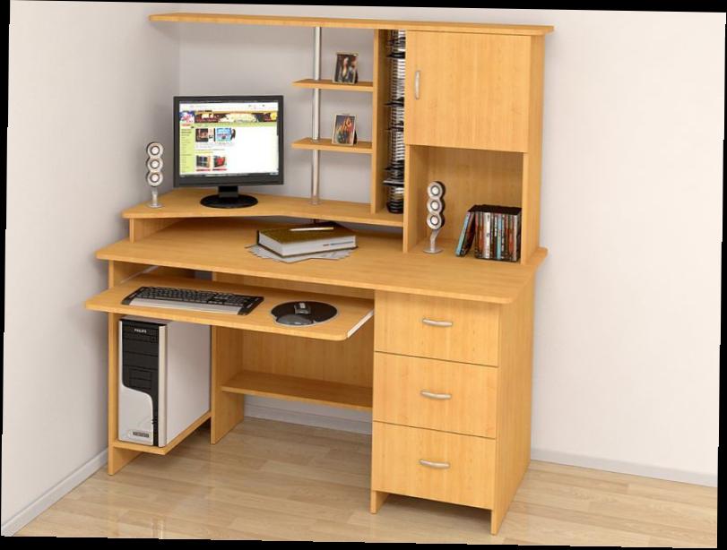 Угловые письменные столы фото - interior.